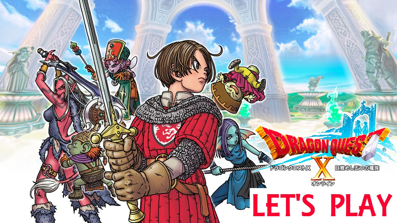 Let's Play Dragon Quest X Part 1 (Offline Mode)