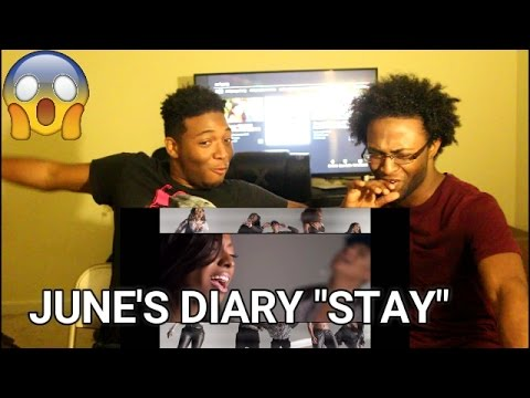 June's Diary - Stay (Jodeci Cover) (REACTION)