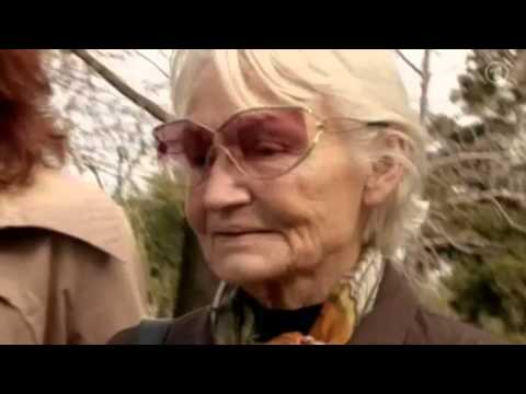 Interview of Margot Honecker in Chile. Wife of the dictator of the GDR.