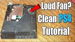 How to CLEAN PS4 and FIX PS4 LOUD FAN! (EASY METHOD)(2019)