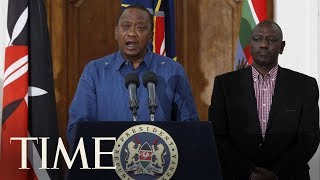 President Kenyatta Says Gunmen In Nairobi Attack Have Been