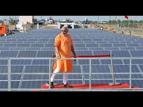 International Media On India Making Renewable Solar Energy To Power Cities