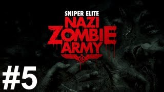 Sniper Elite Nazi Zombie Army Gameplay Walkthrough Part 5 No Commentary
