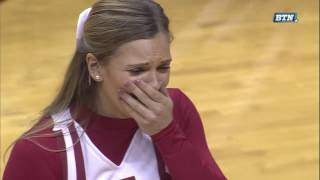 Collin Hartman Proposes to Girlfriend on Senior Day | Indiana Hoosiers | Big Ten Men's Basketball thumbnail
