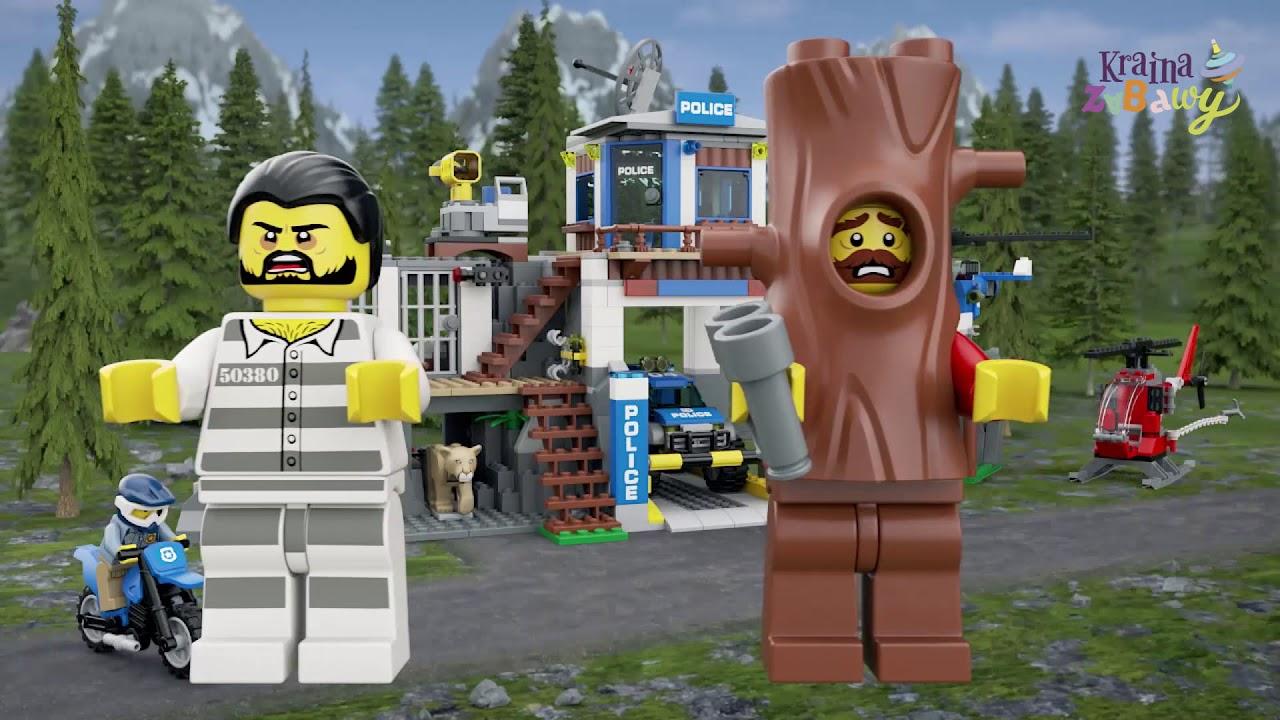 Lego City Górski Posterunek Policji 60174 Wwwkrainazabawypl