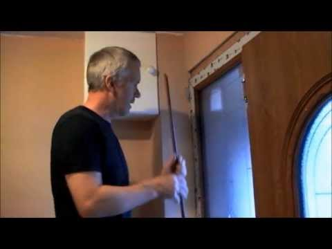 How To Install Composite Upvc Door And Frame Part 2