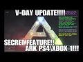 VALENTINES UPDATE!!! ARK PS4/XBOX 1!!! SECRET ITEM?!?!  v.504!!