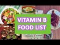 A Guide To Vitamin B   Vitamin B Sources and Foods List   Vitamin B Functions