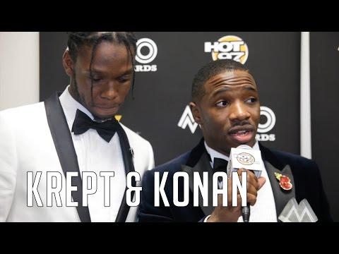 Two-Time MOBO Winners Krept & Konan Talk New Album & Hot97 Discovering Them FIRST