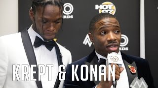 Two-Time MOBO Winners Krept & Konan Talk New Album & Hot97 Discovering them FIRST