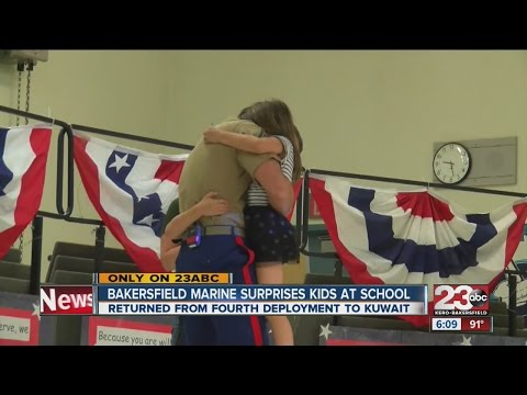 A Marine's surprise homecoming