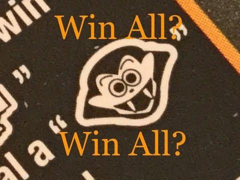 💥WIN ALL💥 $5 Halloween Scratch Off! Pennsylvania Lottery!