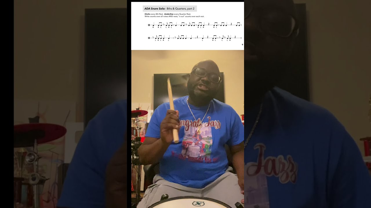 How To Read Snare Drum Music with Atlanta Drum Academy