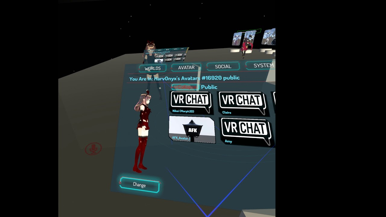 Vrchat Full Body test with Kinect