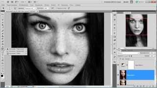 Adobe Photoshop - Эффект Черно-Белый Винтаж