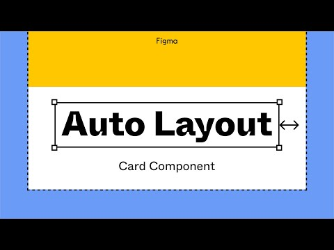 Figma tutorial: Card component with auto layout