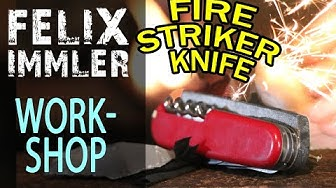 DIY Victorinox Fire Striker Knife - SAK customize & maintenance Workshop (7/15)