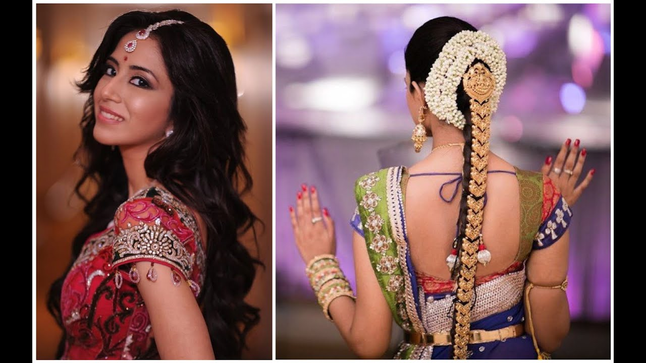 indian bridal hairstyle guide - youtube