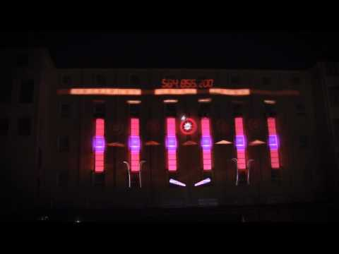 NuFormer 3D Video Mapping - Sony, Madrid, Colegio San Augustin, May 2010