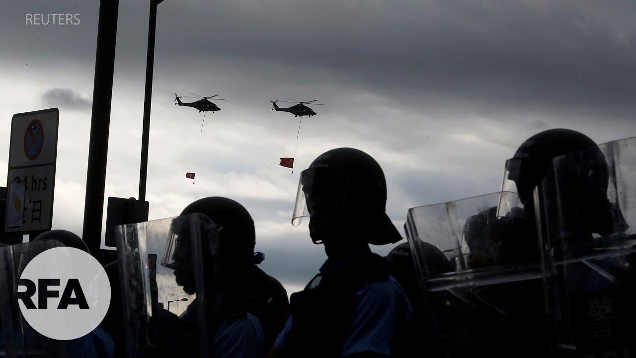 Hồng Kông: Bạo lực diễn ra trong ngày kỷ niệm 22 năm Anh trao trả đặc khu