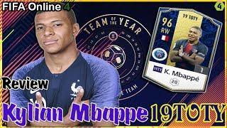 Review FO4 - Kylian Mbappe 19TOTY (Team Of The Year) : Tuổi trẻ làm được gì | (By Hưng Zenda)