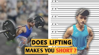 Does lifting weight stunt growth ?| In HINDI | What science say