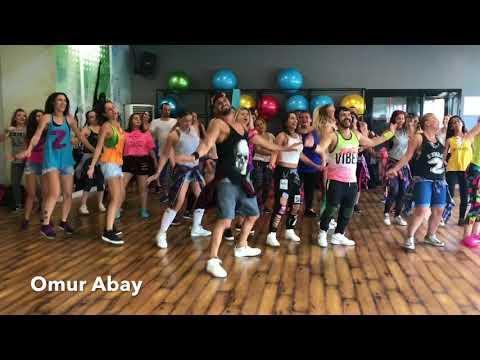 Omur Abay / New Choreography /Garmiani - Voodoo (feat. Walshy Fire) Easy Zumba Fitness Choreography