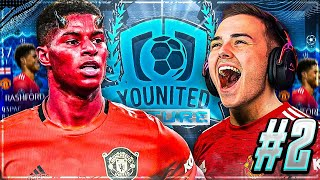 YOUNITED FUTURE RASHFORD #2 Das ROTE KARTEN DILEMMA 😨 FIFA 21