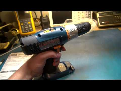 RYOBI Drill P206 Testing unit - YouTube