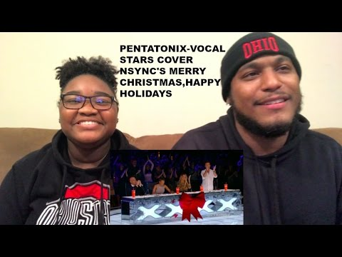 Pentatonix  Vocal Stars Cover NSYNC's  Merry Christmas, Happy Holidays- REACTION VIDEO