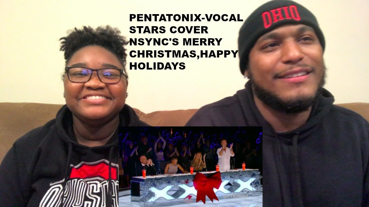 pentatonix vocal stars cover nsyncs merry christmas happy holidays reaction video
