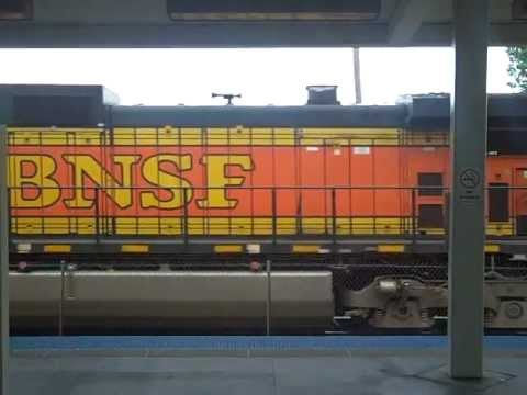 Pacing a BNSF Intermodal on GTW from the CTA Orange Line