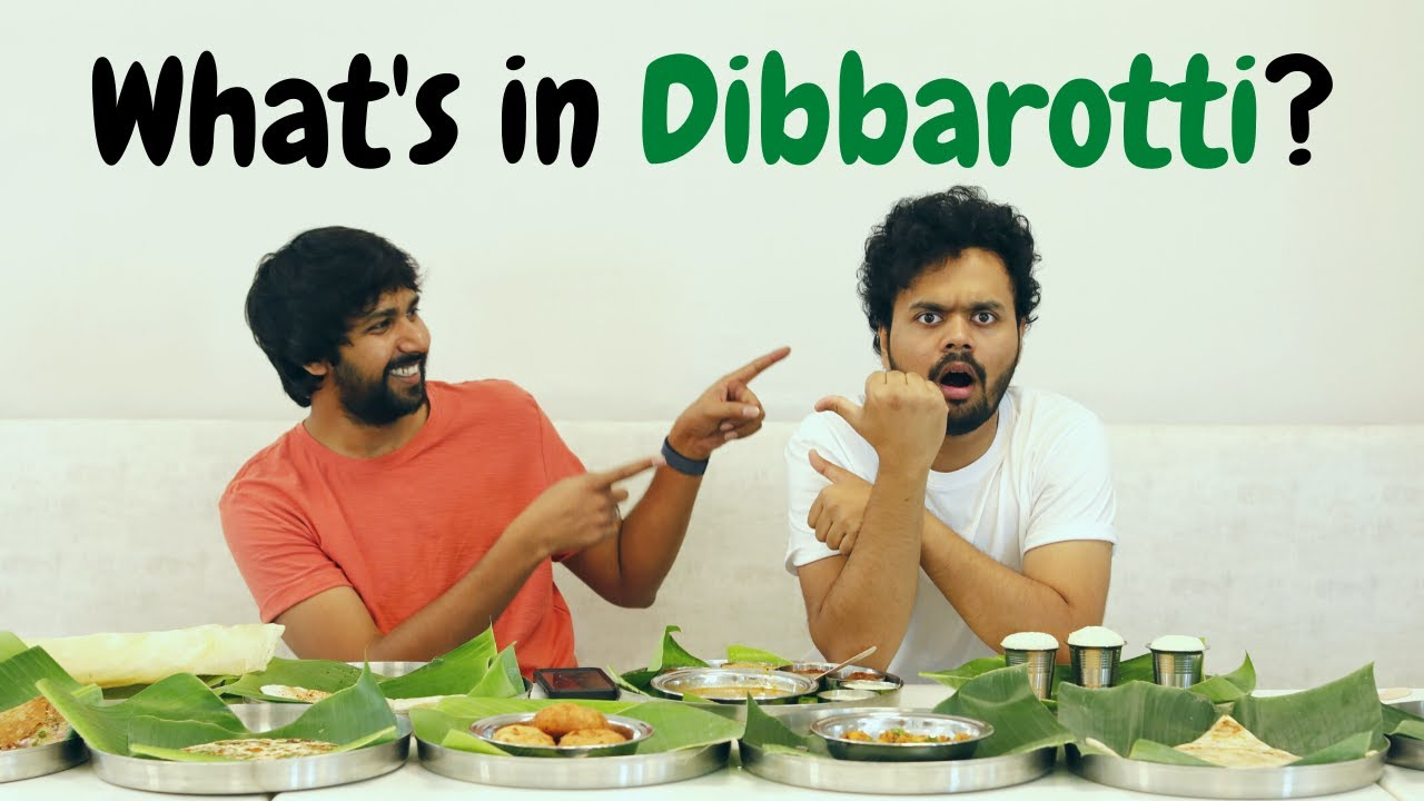 What`s in Dibbarotti? - Challenging Nikhil at his restaurant