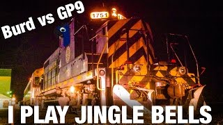 [HD60FPS] CAB TOUR Burd plays Jingle Bells on a GP9 [BonusTrack #9]