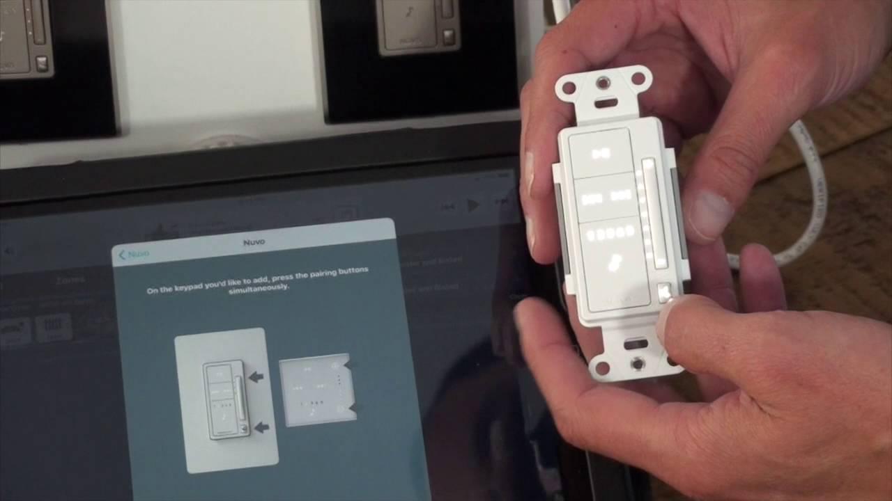 medium resolution of adding a nuvo p10 keypad to an audio zone
