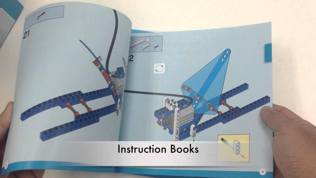 Lego Education 9688 Unboxing Renewable Energy Add On Set