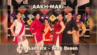 Lander's Song Akh Mari Jatti Ne | King Queen Dance Video | Easy Bhangra Steps For Girls
