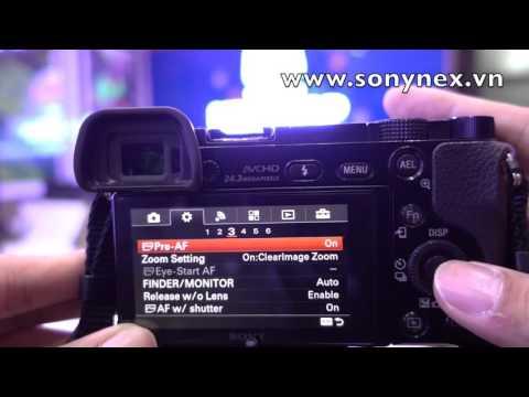 Nhận diện khuôn mặt trên Sony A6000 - Nâng cao - Đăng ký - Thay đổi độ ưu tiên