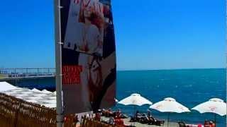 Ялта 2012 Массандровский Пляж От A  До Я  Yalta Massandra beach 11.06.2012