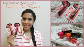 Maybelline Baby Lips Electro Pop Review