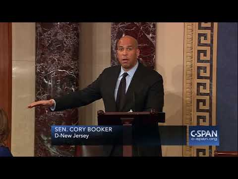 Senator Cory Booker (D-NJ) on Attorney General Jeff Sessions