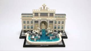 Lego 21020 Trevi Fountain - Speed Build - Stop Motion