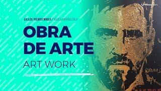 Obra de arte: Leo Messi glitter