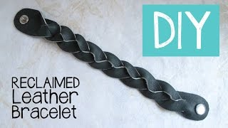 Diy Magic Mystery Braid Leather Bracelet Tutorial