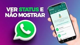 Como Visualizar Status do Whatsapp Sem a Pessoa Saber