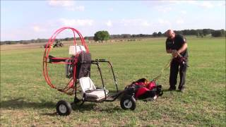 How to Launch a Powered Paraglider Trike Capt. Kurt Fister Style