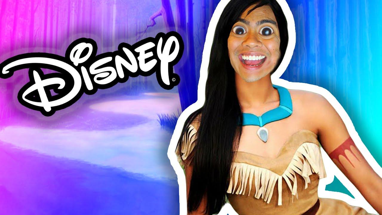 i am a disney princess youtube