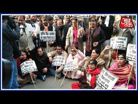 Shatak Aaj Tak: 120 BJP Councillors Arrested Outside Arvind Kejriwal's Residence