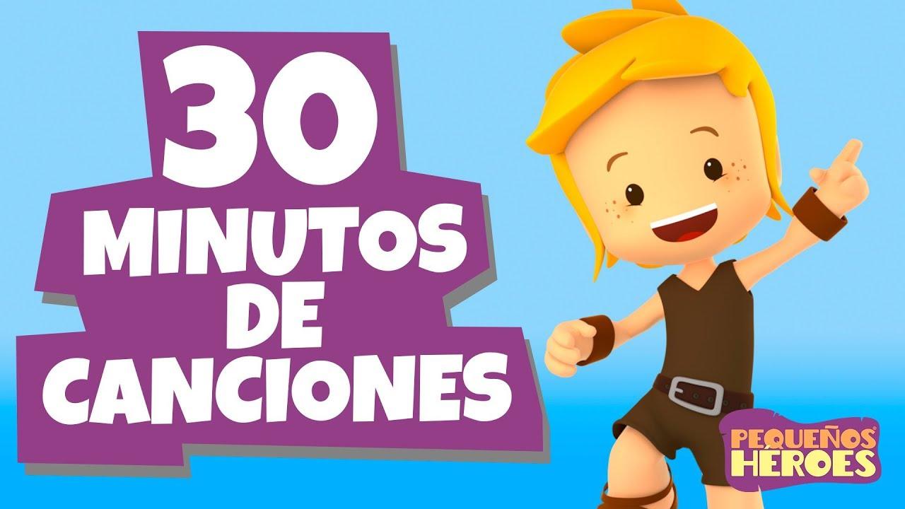 30 minutos de canciones infantiles - Pequeños Héroes por media hora - Generación 12 Kids