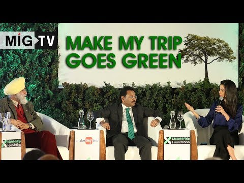 Make My Trip goes green